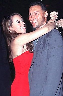 Image result for derek jeter mariah carey