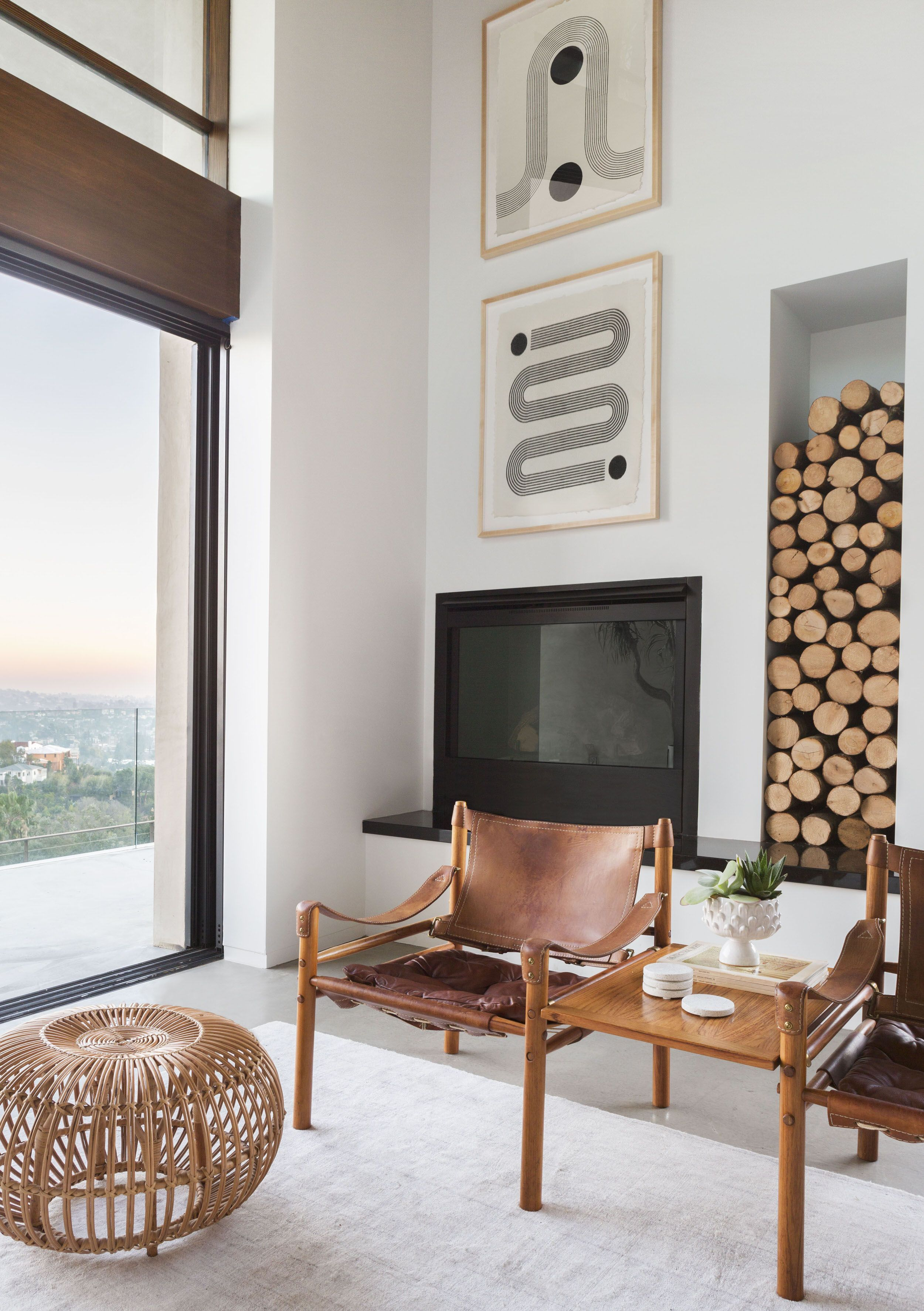 A Modern And Organic Living Room Makeover  Emily Henderson Fascinating Living Room Makeover Inspiration Design