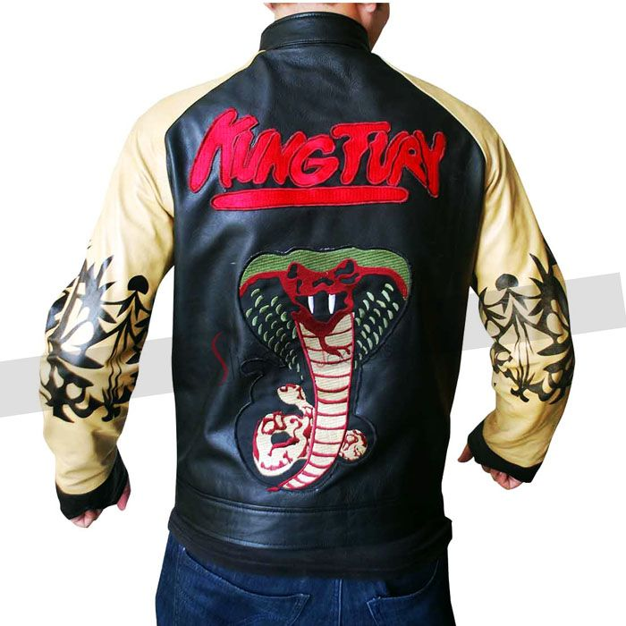 Kung Fury Leather Jacket