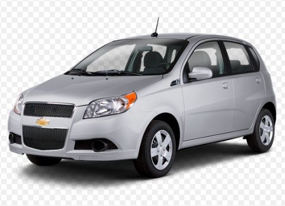 Sedan 2009 Chevrolet Aveo Lt With 4 Door In Sherman Oaks Ca