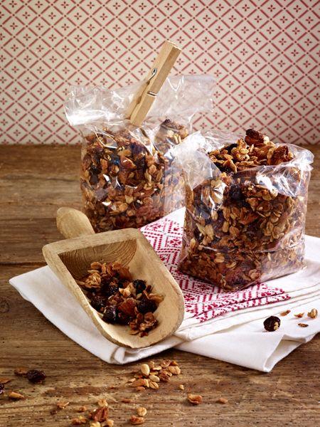 Auf dem Wunschzettel 10 Geschenke aus der Küche Muesli, Granola