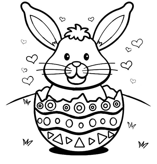 images of easter bunny coloring pages | Easter bunny coloring pages | Easter Bunny | Bunny ...