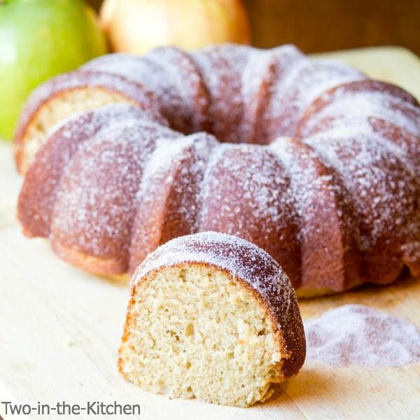 Apple Cider Donut Cake - Two in the Kitchen