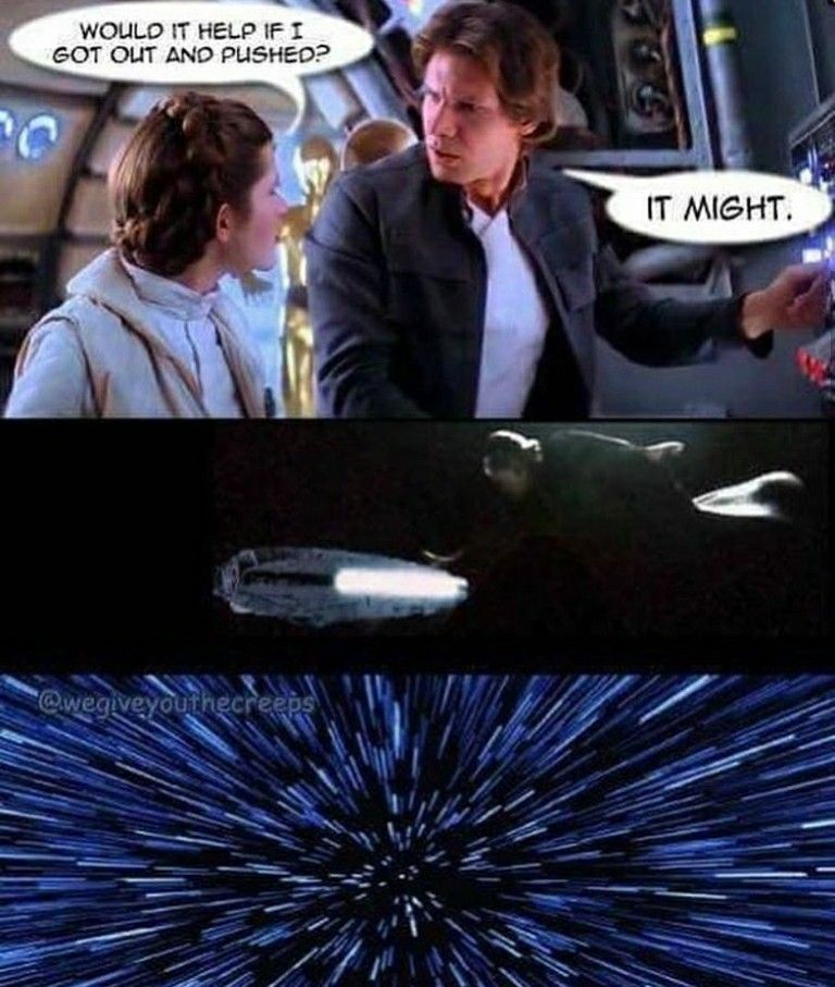 Bless The Person That Made This Meme Star Wars Humor Star Wars Memes Star Wars Nerd