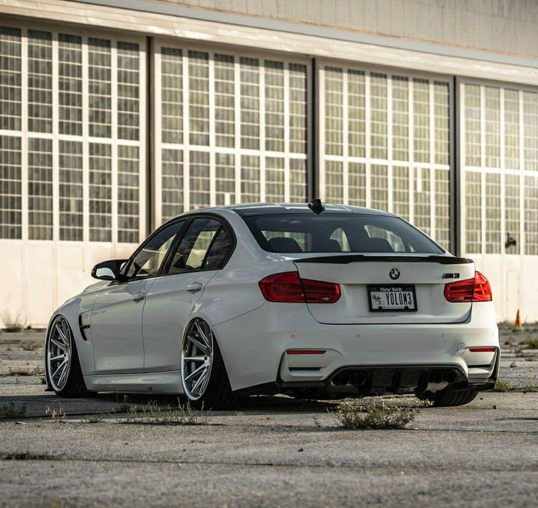 2000 Bmw M3: BMW F80 M3 White Slammed YOLOM3