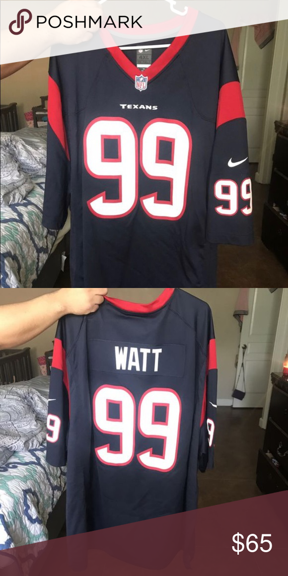 competitive price 86584 71b84 JJ Watt Jersey Size 4X. Only work once. No stains or tears ...
