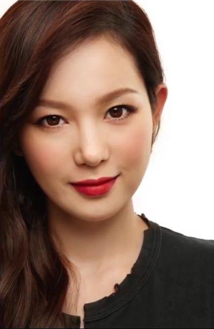 red lips makeup korean wwwpixsharkcom images
