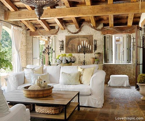 Tuscany Style Living Room Pictures, Photos, and Images for ...