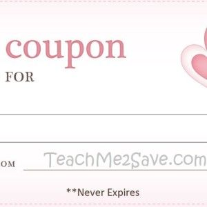 Example Of A Coupon Mesmerizing Valentine Day Blank Coupon Template Example A Part Of Under Coupon .