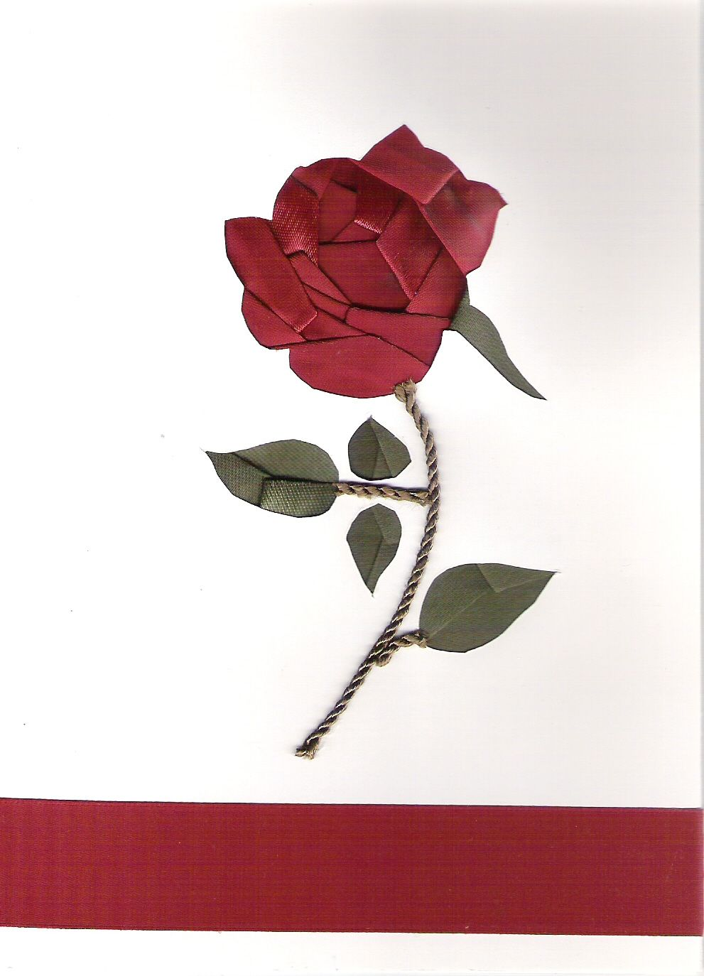 A rose is a rose the cards pinterest iris folding iris and a rose is a rose izmirmasajfo