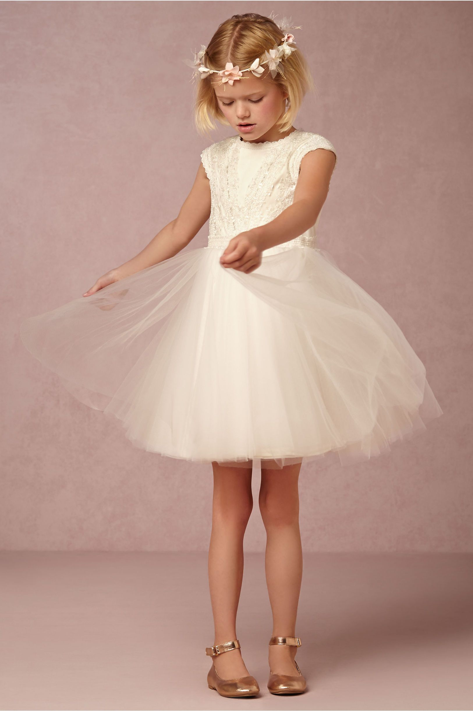 Gracie Flower Gril Dress from BHLDN | Kid\'s Fashion | Pinterest ...