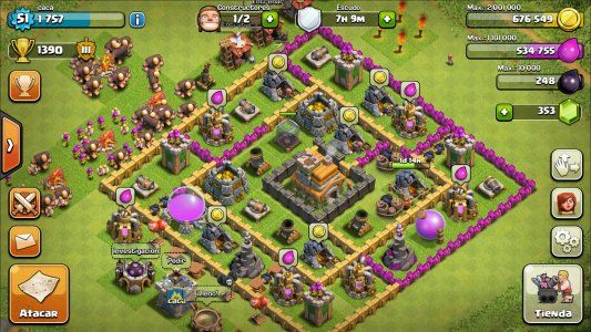 Clash Of Clans Screenshot 1 Clash Of Clans Real Time Strategy