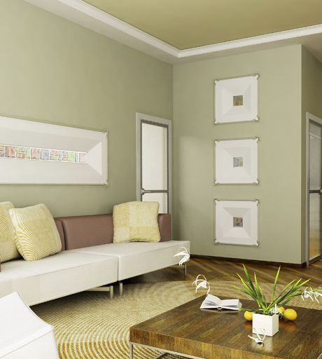 Gu a de colores para pintar la casa hogar dulce hogar - De que color pintar un salon ...