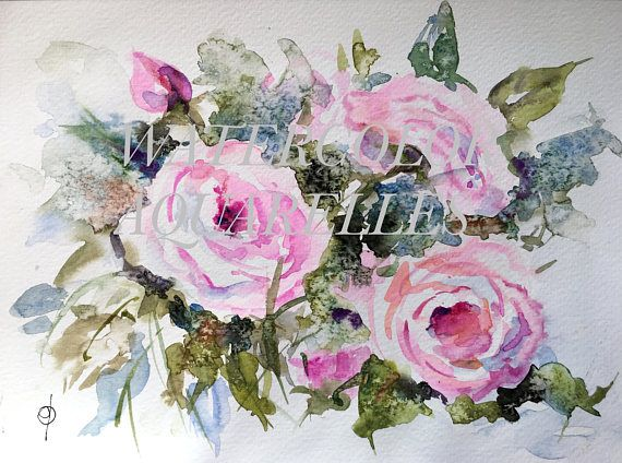 Pin By Alice Conner On Water Colors Fashion Painting Floral