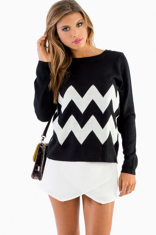 roressclothes clothing ideas  women fashion black Noelle Sweater e434ff257