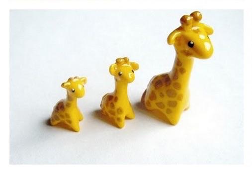 Tuto Fimo Adorable Girafe Fimo Girafes Et Tuto Fimo