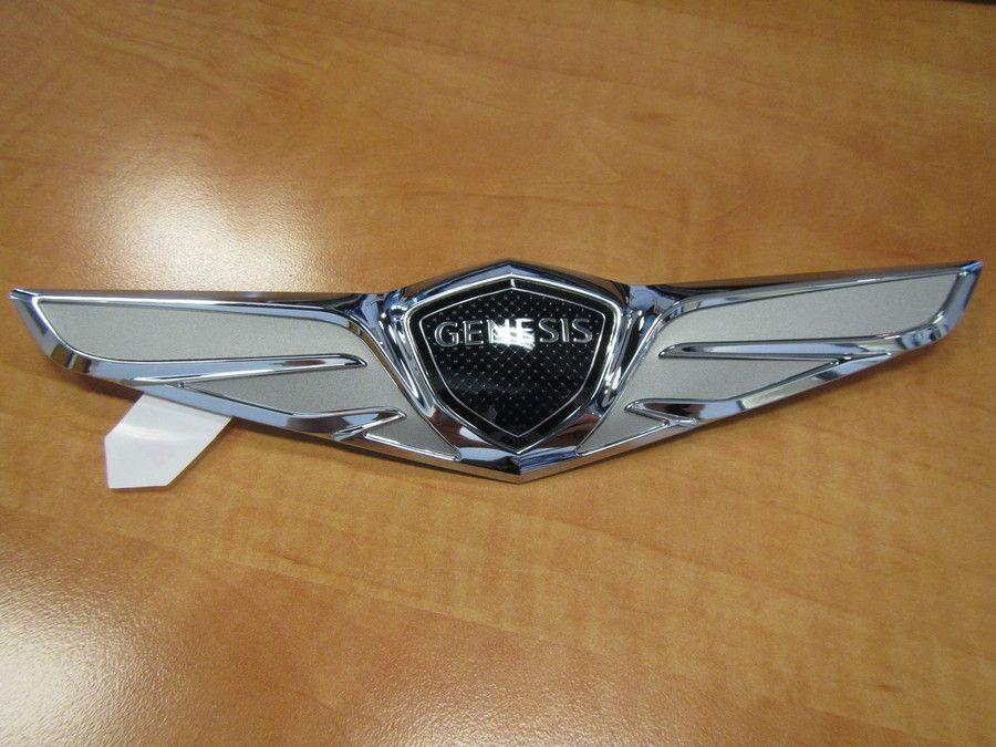20152018 Genesis Wing Hood Emblem (F243) Concept car