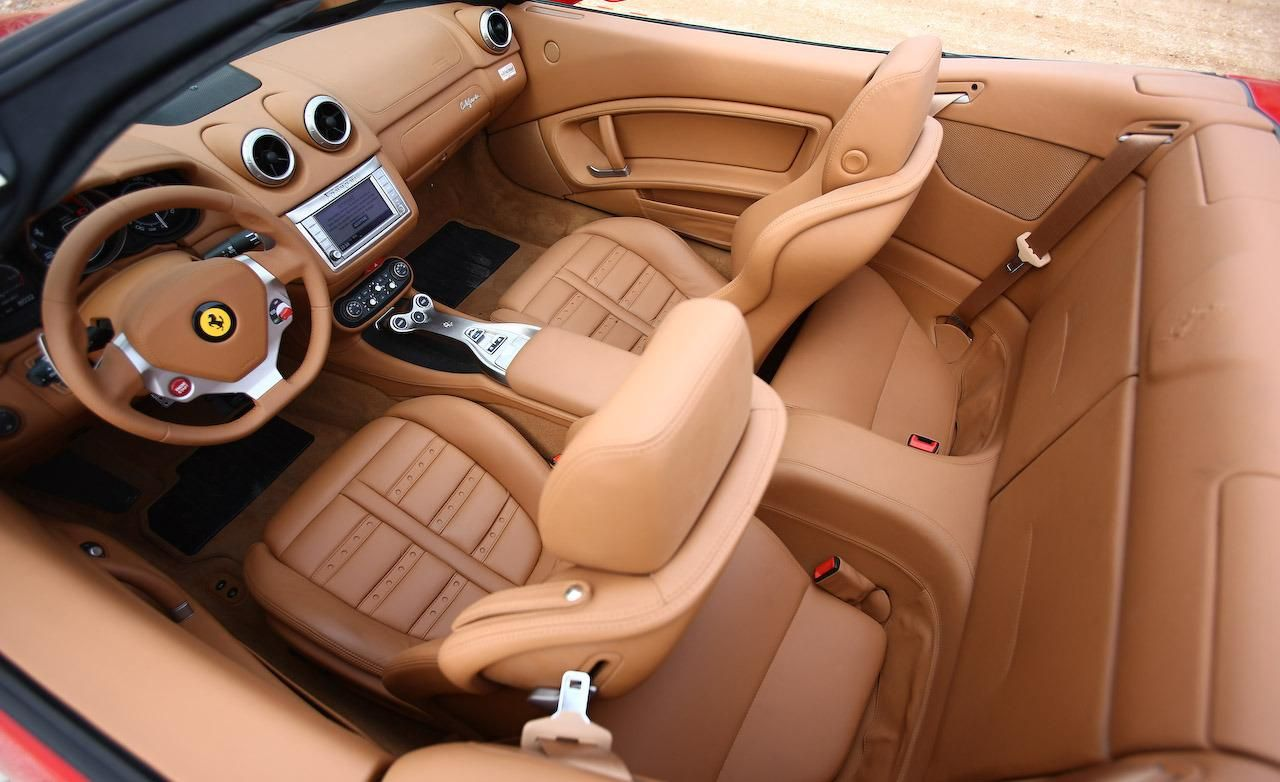 Ferrari California interior #3 | Ferrari California | Pinterest