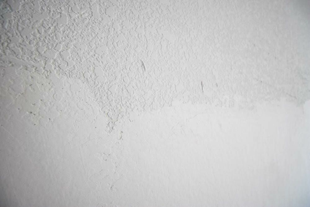 How To Smooth Textured Walls With A Skim Coat Modernize Textured Walls Smooth Ceiling Spray Textures