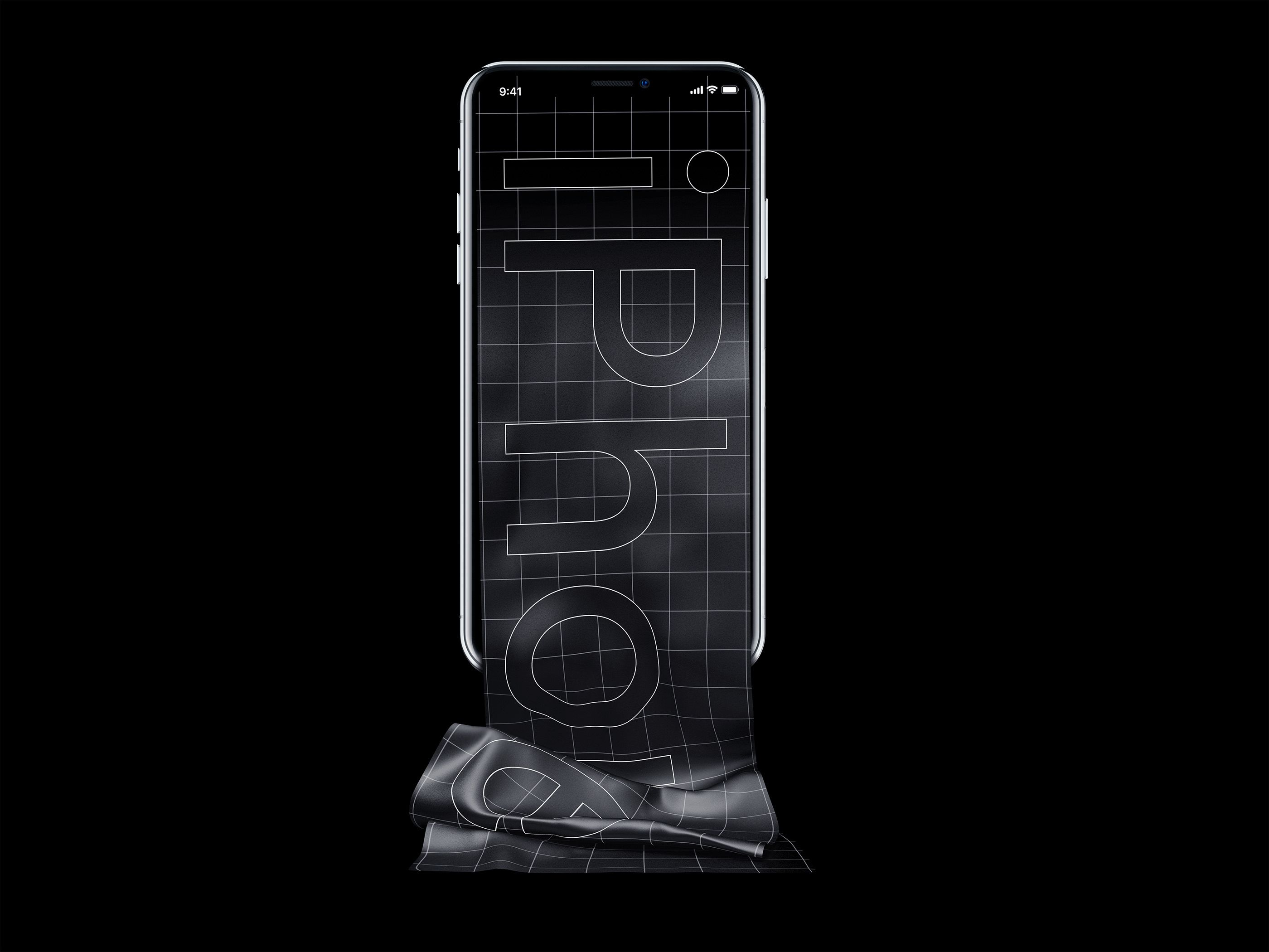 Free Long Scroll iPhone X Mockup Mockup, Iphone, Design
