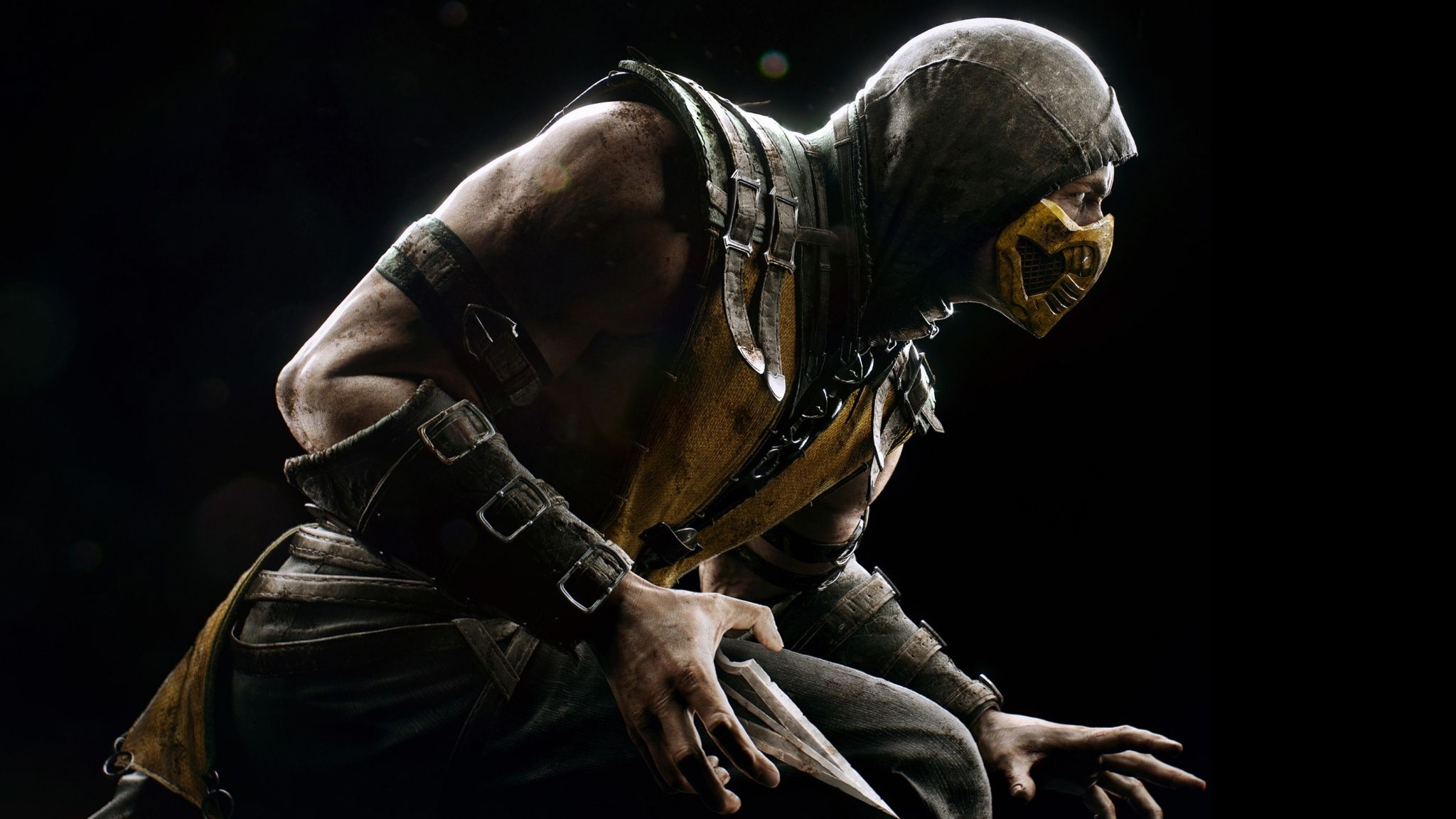 Mortal Kombat Scorpion Hero Costume Mortal Kombat X Mortal