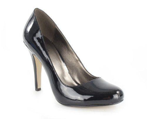 Zara Woman Patent Mary Jane Low Heeled Shoes Nude UK 7 EU