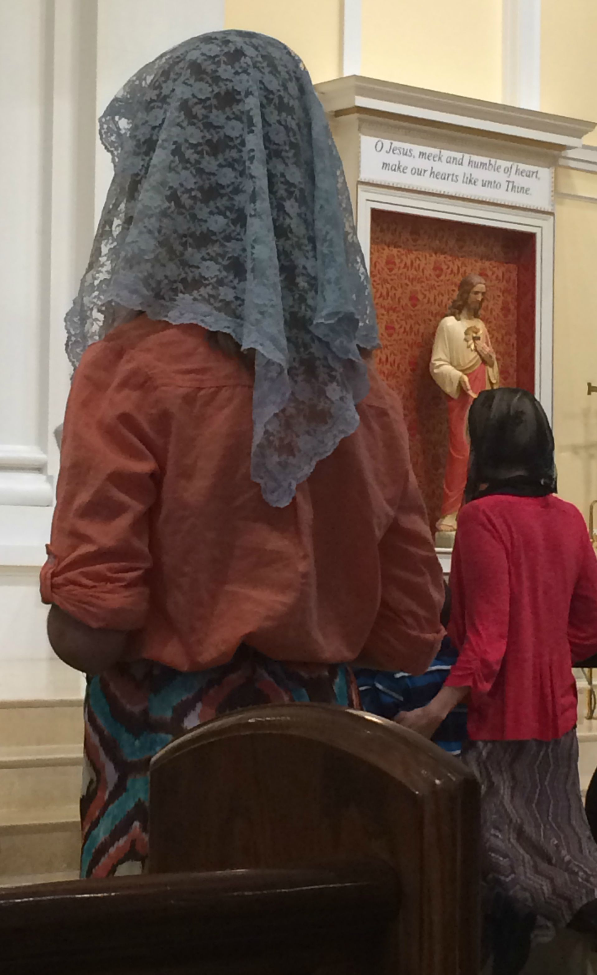 The Tradition behind Mantillas/Chapel Veils Catholic