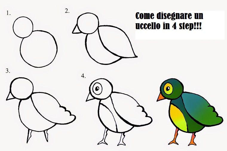 Disegni Facili Da Disegnare Per Bambini Acolore