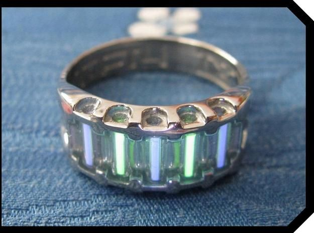 Us11 5 Ring Ix Tritium By Tofty On Shapeways Rings Jewelry Ring Designs