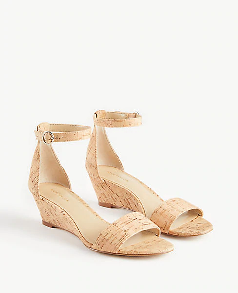 Giuliana Cork Wedge Sandals Ann Taylor Cork Wedge Cork Wedges Sandals Wedge Sandals