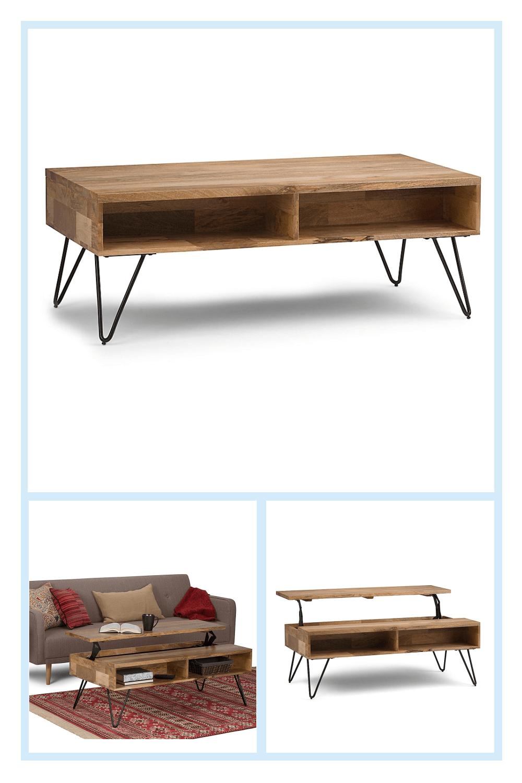 Simpli Home Hunter Lift Top Coffee Table In Natural Bed Bath Beyond In 2020 Simpli Home Lift Top Coffee Table Coffee Table [ 1500 x 1000 Pixel ]