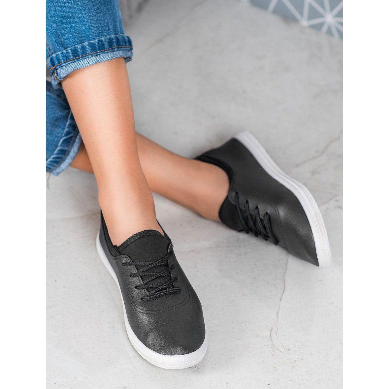 Shelovet Lekkie Trampki Z Eko Skory Czarne Dress Shoes Men Cole Haan Zerogrand Oxford Oxford Shoes