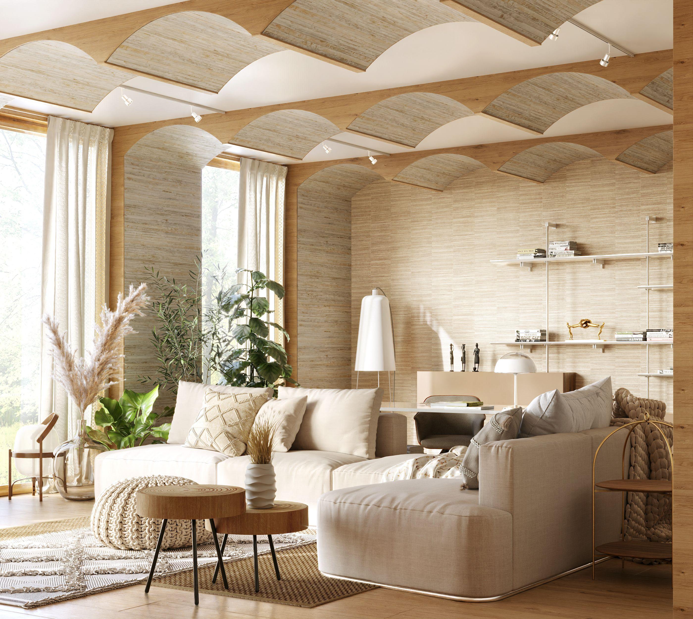 boho style living room #anastasiia_architect#decorhome#bohohome#interiorstyle#ideasforinspiration#интерьергостиной#оформлениестен#декордлядома#бохостиль#экостиль#экоинтерьер