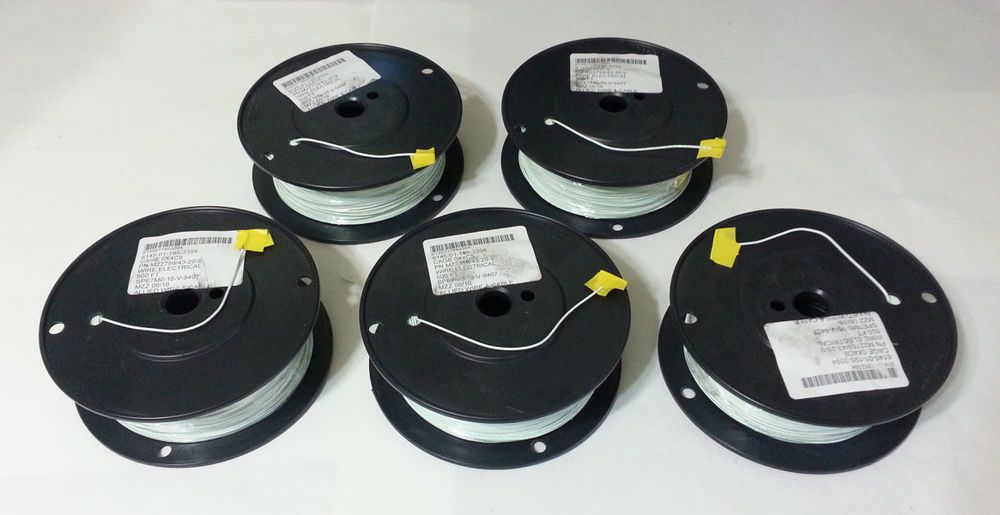 High Temp Wire ETFE 20AWG 200C 600V Allied Wire & Cable M22759/43-20 ...
