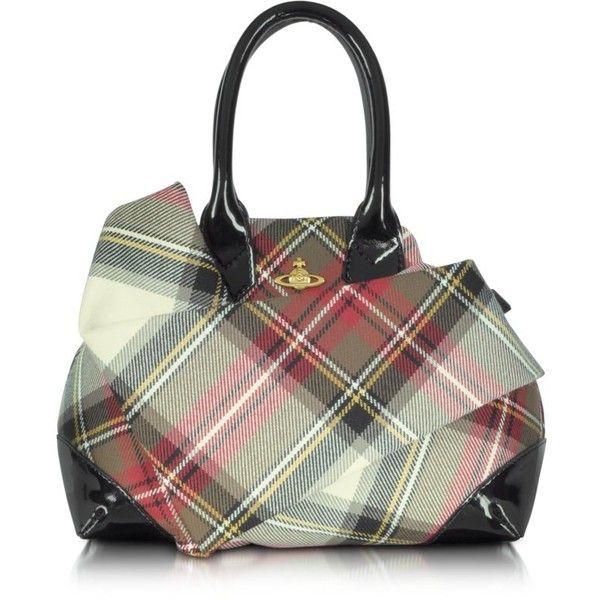Vivienne Westwood Winter Tartan - Small Satchel Bag
