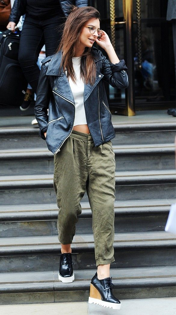 How Emily Ratajkowski Always Looks Amazing, According to Her Stylist via @WhoWhatWear
