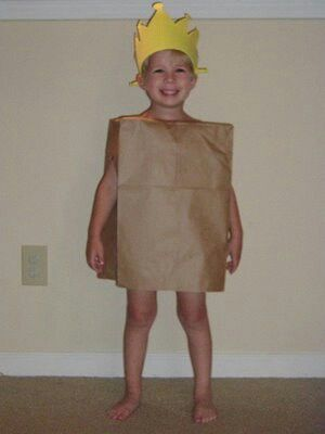 Paper Bag Princess Costume! Check out the book from the library too! #paperbagprincesscostume Paper Bag Princess Costume! Check out the book from the library too! #paperbagprincesscostume