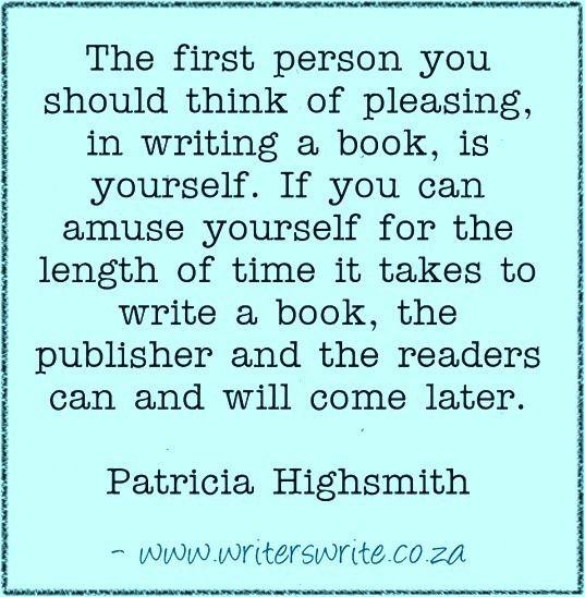 Quotable - Patricia Highsmith