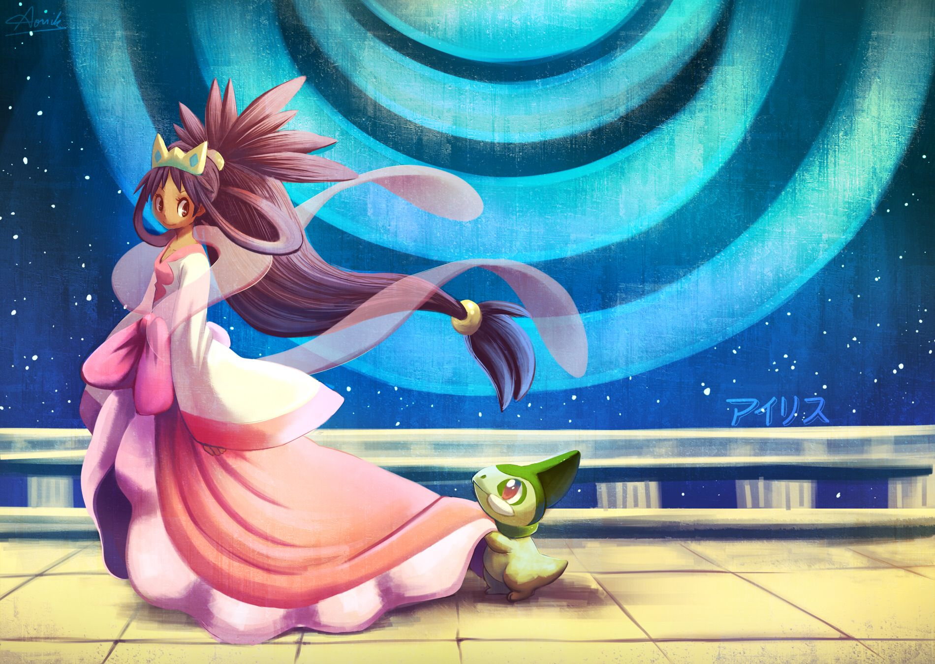 Isis in her Champion style Loved her btw | Pokemon