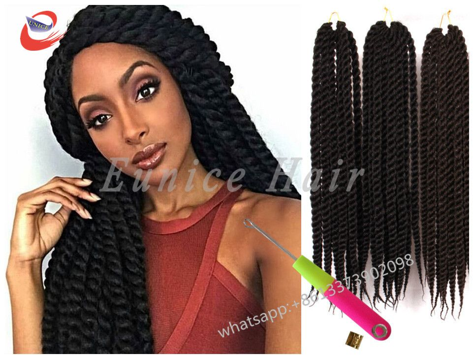 Long Two Strand Braiding African American Hair Extensions Cheap