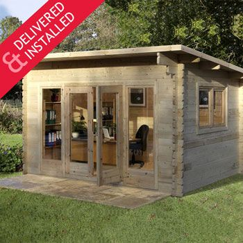 Sheds Greenhouses Cabins Gazebos Tents And Outdoor Storage At Costco Co Uk Shipping And Handling Included Garden Log Cabins Garden Cabins Wooden Sheds