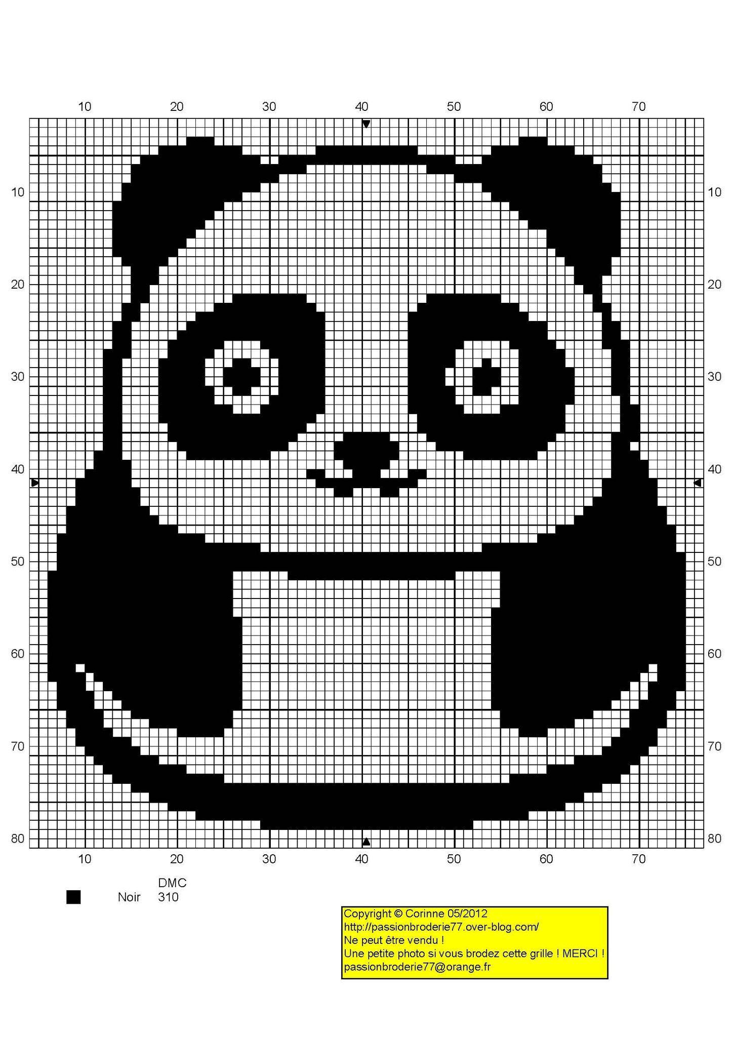 рисунки по клеточкам панды картинки нужно
