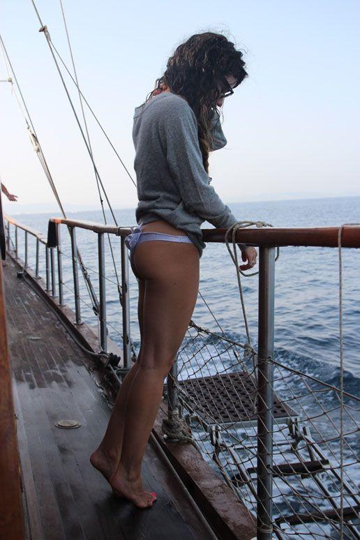 pitimini rose swimsuit & diabless jumper. 8/11/12