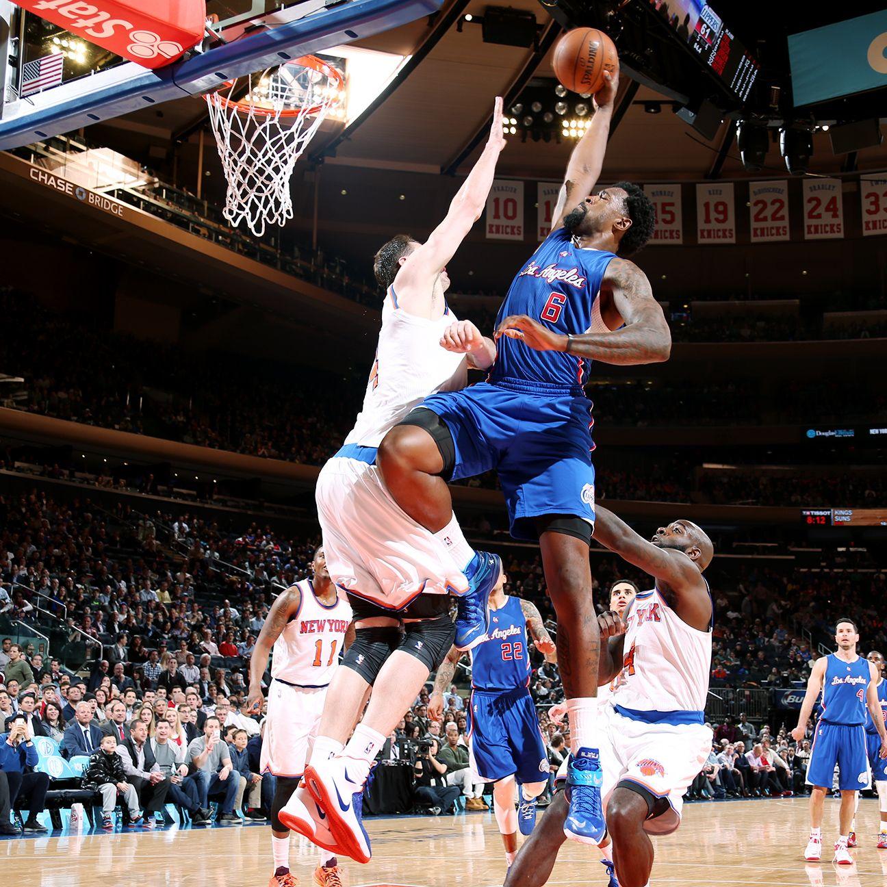 Deandre Jordan Rejoins Clippers Snubs Mavericks Los Angeles Clippers Dallas Mavericks Sports Pictures