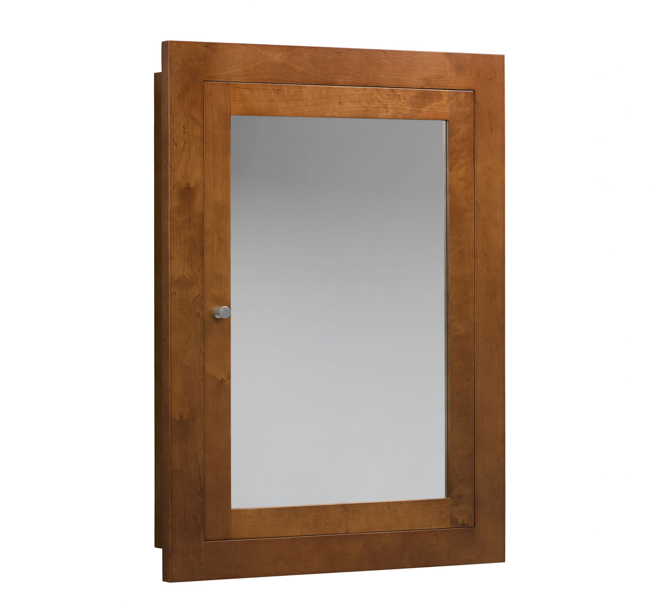 Ronbow 25 Medicine Cabinet 618125 Recessed Or Surface Mount Dark Cherry White Guest Bath