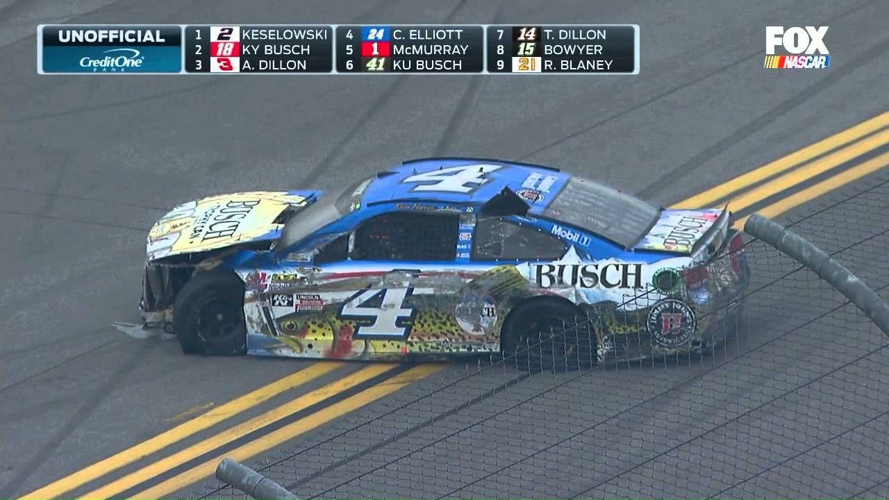 NASCAR @ Talladega Big One (Final Lap Crash) - May 2016