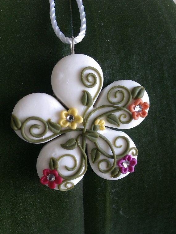 flower. ceramic idea