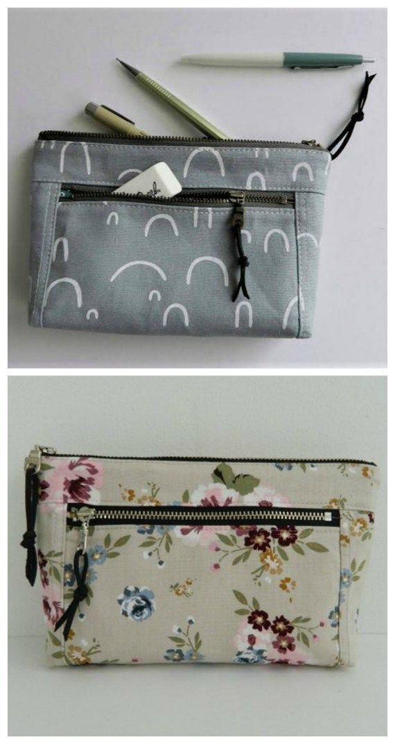 Devon Zipper Pouch sewing pattern and video – Sew Modern Bags
