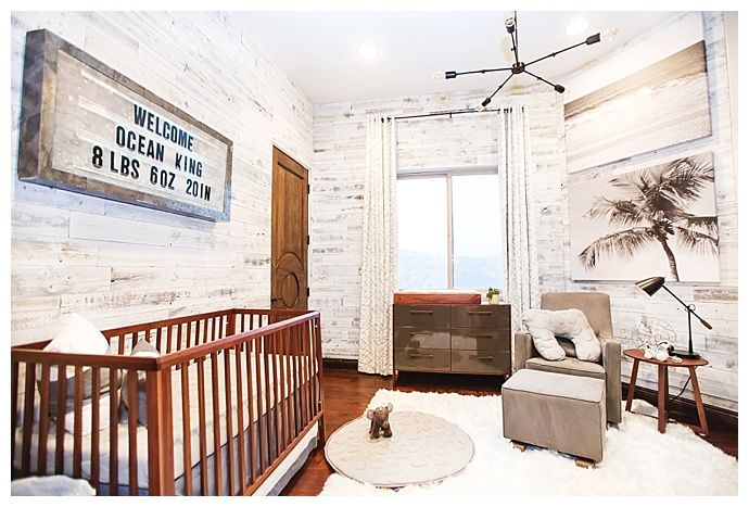 A Nursery Tour With An Industrial Beach Vibe With Images Beach