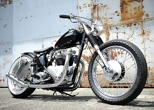 Triumph bobber | Bobber Inspiration - Bobbers and Custom Motorcycles | the-ghost-darkness August 2014